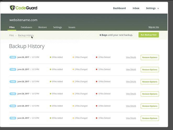 Code Guard Interface